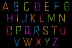 Set of Alphabet Stock Photos