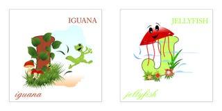 Set of Alphabet letters, I-J Royalty Free Stock Image