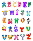 Set of Alphabet Monster. Vector Illustration of Set of Alphabet Monster Stock Image