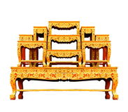 Set of altar table. Stock Image