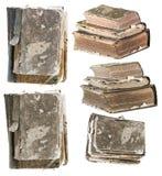 Set alte Bücher Lizenzfreie Stockbilder