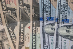 Set of american dollar Royalty Free Stock Photography