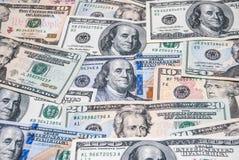 Set amerykański dolar Obrazy Stock