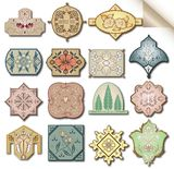 Set ancient style label. Vector Royalty Free Stock Photo