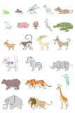 Set of Animal Stock Photo