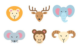 Set of animal icon Stock Photography
