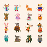 Set of animal icons Stock Photo