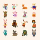Set of animal icons Stock Photo