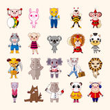 Set of animal icons Stock Photography