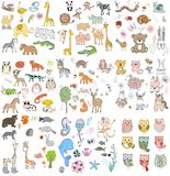 Set of animals. Royalty Free Stock Photography