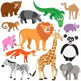 Set of Animals Stock Images