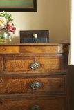 Set Of Antique Drawers Stock Images