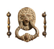 Set of antique handles Royalty Free Stock Photo