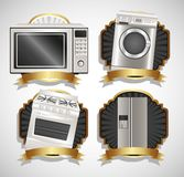 Set of Appliances Stock Photos