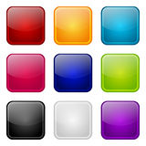 Set of apps color icons Royalty Free Stock Photo