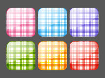 Set of apps icons Royalty Free Stock Photography