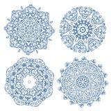 Set arabeskowy ornament dla twój projekta Fotografia Royalty Free