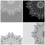 Set of arabesque backgrounds for your design Royalty Free Stock Photography