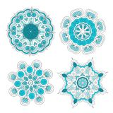 Set of arabesque ornament for your design Stock Photography