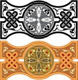 Set of Arabesque pattern Stock Photo