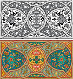 Set of Arabesque patterns Royalty Free Stock Photo