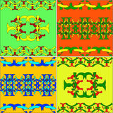 Set of the Arabian ornaments Royalty Free Stock Images