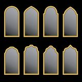 Arabic window shape Royalty Free Stock Image