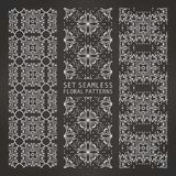 Set of Arabic seamless patterns, . 10 eps Stock Illustration