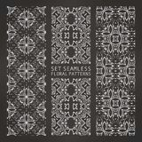 Set of Arabic seamless patterns, . 10 eps Vector Illustration