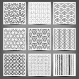 Set of Arabic seamless patterns,. 10 eps Vector Illustration