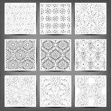 Set of Arabic seamless patterns, . 10 eps Royalty Free Illustration