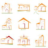 Set of Architectural Building Stock Photos
