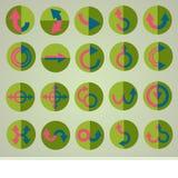 Set of arrows Stock Image
