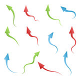 Set of Arrows Royalty Free Stock Image