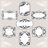 Set Of Art Deco Banners Royalty Free Stock Image