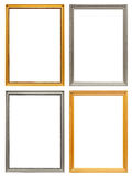 Set of art frames Stock Photos