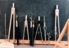 Set of art tools. Royalty Free Stock Image