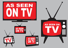 Set of as seen on TV Stock Photos