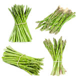 Set with asparagus Stock Images