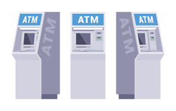 Set of the ATMs Royalty Free Stock Photography