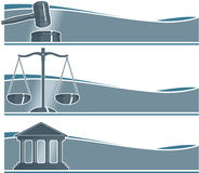 Set of Attorney Banners. Including Vector Format vector illustration
