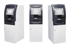 Set of Automated Teller Machine Royalty Free Stock Photography