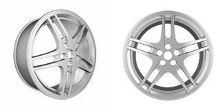 Set of automotive disc Royalty Free Stock Image