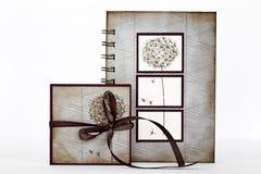 Set av anteckningsböcker Royaltyfria Foton