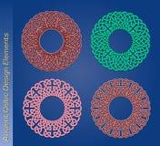 Set av celtic designelement för vektor Royaltyfria Bilder