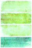 Set av grungebakgrunder med avstånd för text Arkivfoton