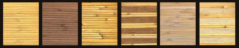 Set av naturliga texturer Royaltyfria Foton
