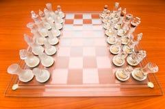 Set av schackdiagram Arkivbilder