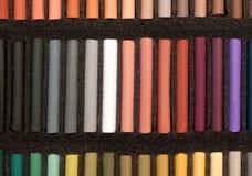 Set av slapp pastell Arkivfoton