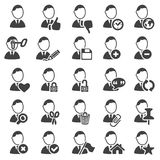 Set of avatar icons Stock Image